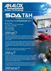 Analox - Model SDA - Temperature & Humidity - Saturation Control Gas Monitoring - Brochure