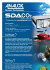 Analox - Model SDA - Carbon Dioxide - Saturation Control Gas Monitoring - Brochure