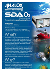 Analox - Model SDA Oxygen - Saturation Control Gas Monitoring - Brochure