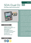 Analox - Model SDA Dual O2 - Dual Display Oxygen Monitoring System - Brochure