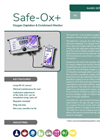 Analox - Model SAFE-OX+ - O2 Enrichment and Depletion Monitor - Brochure