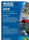 Analox - Model HYP - Partial Pressure Oxygen Monitor - Brochure