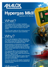 Analox - Model Hyper-Gas MkII - Hydrocarbon Monitor for Commercial Diving - Brochure