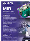 Analox - Model MIR - Mini Infrared CO2 Sensor - Brochure