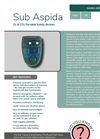 Analox - Model Sub Aspida - Portable Oxygen and Carbon Dioxide Monitor - Brochure