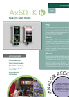 AX60+K - Carbon Dioxide Gas Detector for Food Kiosks - Datasheet