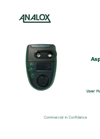 Analox - Model ASPIDA - Carbon Dioxide Monitor - User Manual