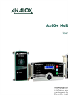 Analox - Model AX60+ - Multi Gas Monitor - User Manual