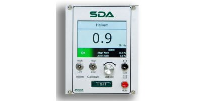 Analox - Model SDA - Temperature & Humidity - Saturation Control Gas Monitoring