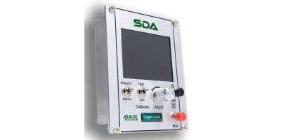 Analox - Model SDA Oxygen - Saturation Control Gas Monitoring