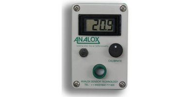 Analox - Model O2 - Portable - Gas Cylinder Checker for Saturation Diving