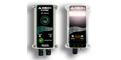 Analox - Model AX60+K - Carbon Dioxide Gas Detector for Food Kiosks