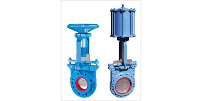 Model 755FRL - Field Replaceable Liners Slurry Knife Gate Valve