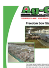 Freedom Sow Stall Brochure
