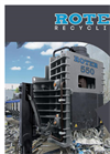 RR550 Series Shear-Balers for Scrap Metal Technical Sheet