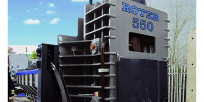 ROTER Recycling - Model RR550 Series - Shear-Balers for Scrap Metal