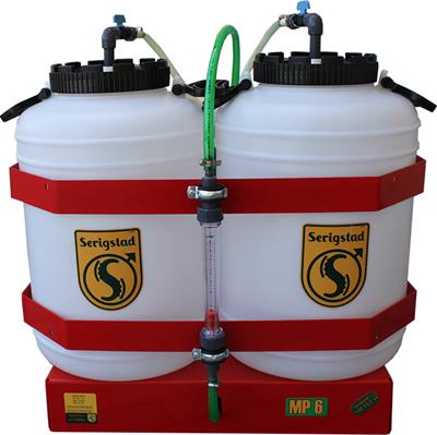 Model MP 6 2x50 l - Analog Tanks