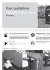 Leafield - ECO 130 litre - Pioneer High Strength Litter Bin - User Guide