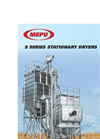Mepu - Model S Series - Stationary Dryers for High-quality and Efficient Grain Drying - Brochure