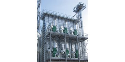 Mepu - Model C Series - Continuous Flow Dryers for Efficient and Uniform Grain Drying