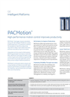 Motion control PACMotion- Brochure