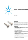 400-MR NMR Spectrometer Data Sheet