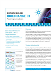 QuikChange HT Protein Engineering System Data Sheet