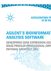 GenSpring Bioinformatics Analysis Software Brochure