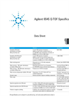 Agilent 6545 Q-TOF Specification Sheet
