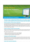OpenLAB ELN New Features in Version 4.2 Datasheet