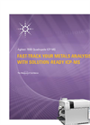 Solution-ready Agilent 7800 ICP-MS Brochure