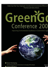 GreenGov Conference 2008 Brochure (PDF 287 KB)