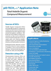 piD-TECH Plus- Total Volatile Organic Compound Measurement - Application Note