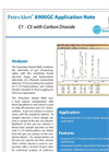 C1 - C5 Hydrocarbons with Carbon Dioxide Application Note