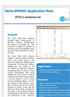 BTEX in Ambient Air Application Note