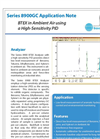 BTEX in Ambient Air using a High-Sensitivity PID Application Note