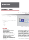 Baseline - Model Series 9000 TCA - Total Carbon Analyzer - Brochure