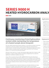 Series 9000 H - Heated Total Hydrocarbon Analyzer