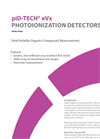 piD-TECH eVx - Photoionization Detectors - App Note