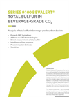 Total Sulfur in Bev-grade CO2 App Note A025.6