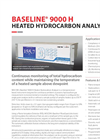 Baseline® 9000 H Heated Total Hydrocarbon Analyzer