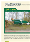Fuelwood Splitta 400 Automatic High Production Logs and Kindling Machine Brochure