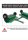 Model MSAT48 - Tow Behind Spike Aerator Manual