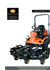 Lastec - Model 325EF - Out Front Mowers Datasheet