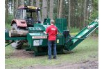Fuelwood - Model Transaw 350 XL - Semi-automatic Firewood Processor