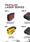 TruPulse - Model 200 - Laser Rangefinders - Brochure
