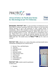 Photox - Model 500 - Advanced Indoor Air Purification System For Microbiological and VOC Reduction - Brochure