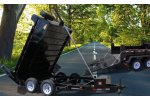 Model 6 Ton - Front Mount Industrial Dump Trailers