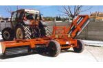 Hydraulically Foldable Agricultural Rollers