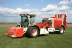 AutoStack  - Model II  - Automatic Turf Harvester